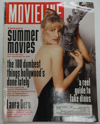 Movieline Magazine Laura Dern Steven Spielberg May 1993 With Ml 052515R