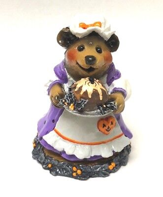Halloween Pudding (Wee Forest Folk PLUM PUDDING BEAR Halloween Limited Store Special 2006)