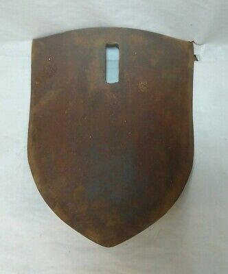 Vintage Furrow Middle Buster Blade Chisel Plow Furrow Shovel 10w X 12.5l