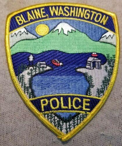 WA Blaine Washington Police Patch