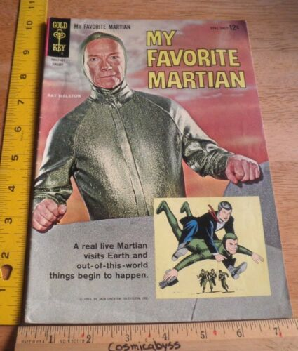 My Favorite Martian 1 Gold Key F- 1960s photo cover clean TV