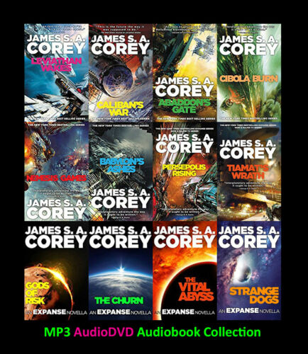 The EXPANSE Series By James S.A. Corey (12 MP3 Audiobook Collection)