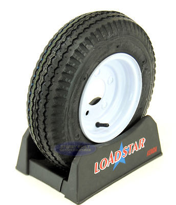 New 4.80-8 Kenda Smooth 4 Ply Tire fits Roofing Wheelbarrow Cart Wagon FREE Ship