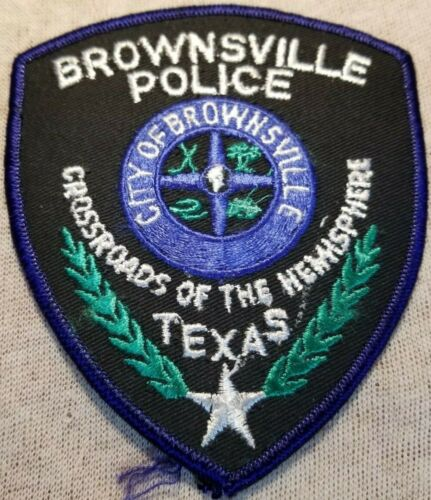TX Brownsville Texas Police Patch