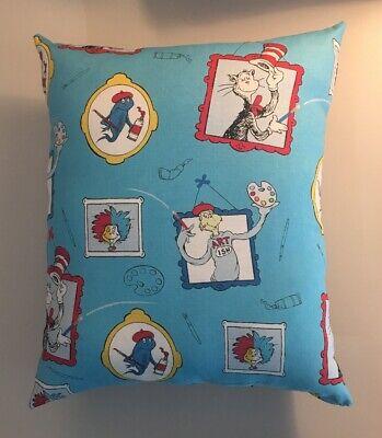 """Beautiful Handmade Dr Seuss Accent - Throw Pillow 12"""" x 10"""""""