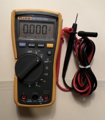 Fluke 115 Electrical Multimeter With Leads 29890876ws