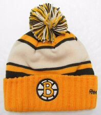 BOSTON BRUINS 2010 NHL WINTER CLASSIC REEBOK CUFFED POM KNIT HAT TOQUE