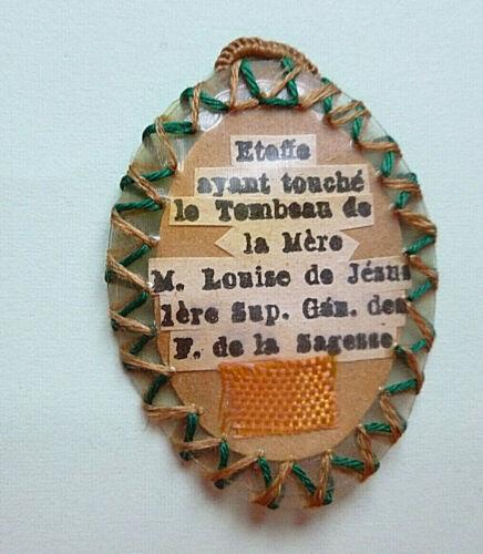 2139/23      OLD RELIQUE   SOEUR MARIE LOUISE DE JESUS          (20)
