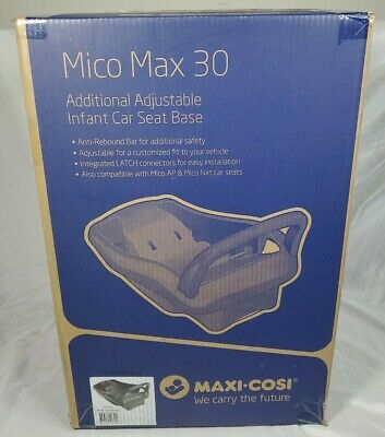 MAXI COSI MICO MAX 30 INFANT CAR SEAT STAND ALONE BASE BLACK ~ NEW IN BOX