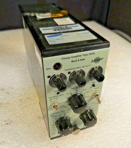 Bruel & Kjaer Type 2635 Vibration Charge Amplifier (12V)