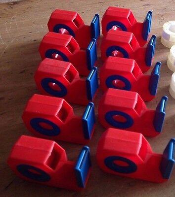 10 x Tape Dispenser / Holder MINI Sellotape / Tape Dispensers