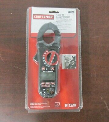 Craftsman 400 Amp Ac Clamp Multimeter 3419749 37b