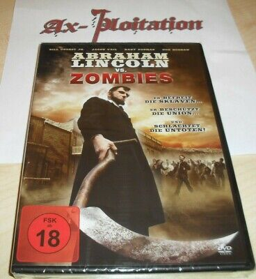 Abraham Lincoln vs. Zombies / DVD FSK 18 Neu + OVP The...