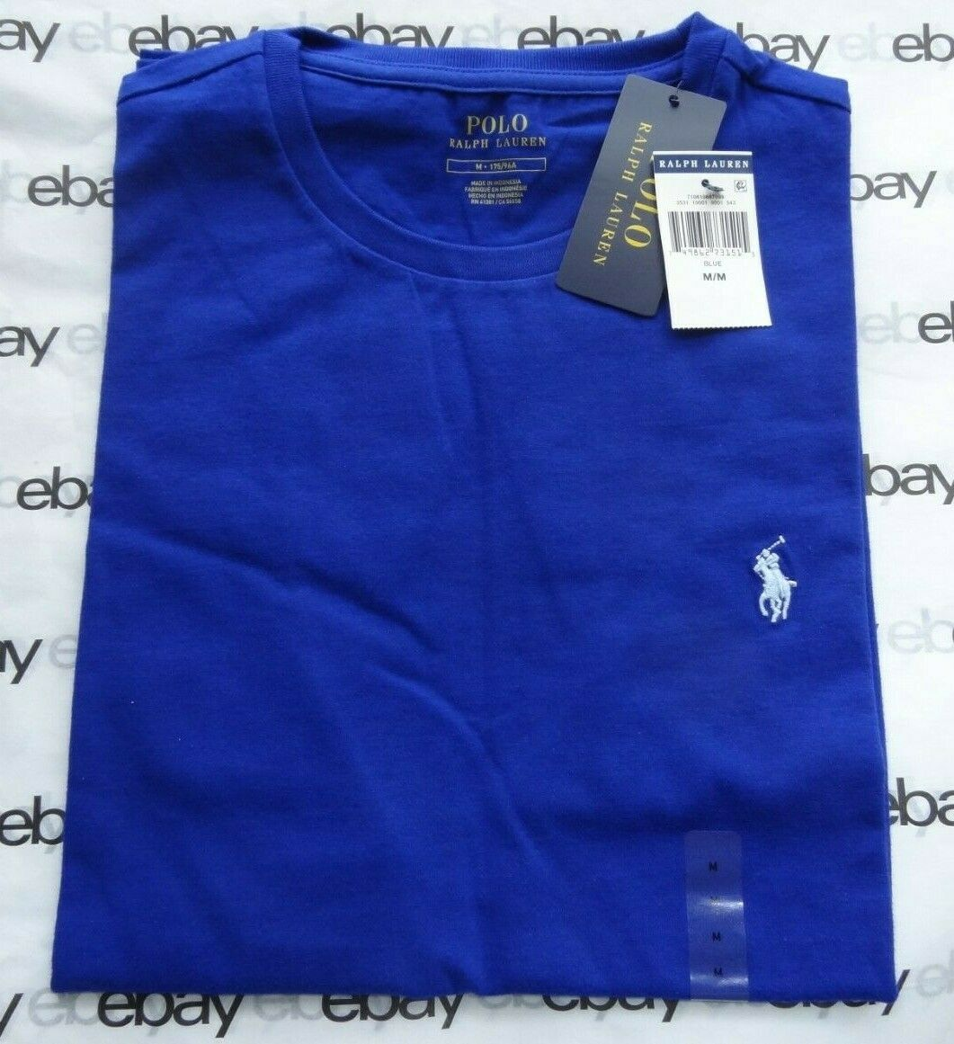 Ralph Lauren Polo Men/'s Crew Neck Short Sleeve New with Tags S//M//L//XL//XXL