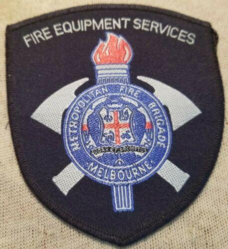 Au Melbourne Australia Metropolitan Fire Brigade Services Patch
