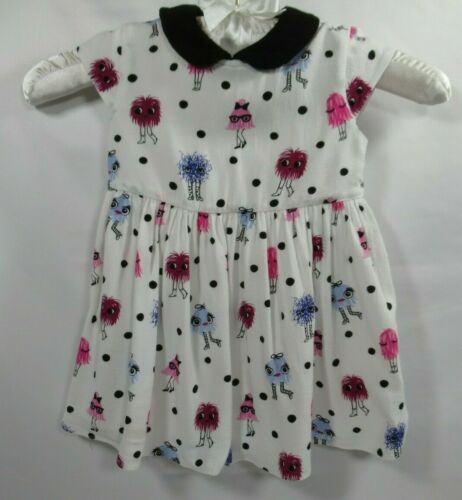 Kate Spade New York Dress and Bloomers Girls Size 12 Months Polka Dot