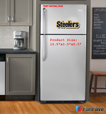Nfl Decor (New NFL Pittsburgh Steelers 3-D Foam Magnet Home Office Bar Decor - Made in)