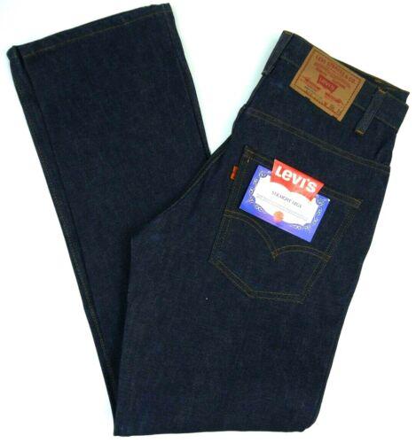 Vintage Levis NOS 519-0217 Dark Jeans Mens 30x31 NWT Deadstock Orange Tab