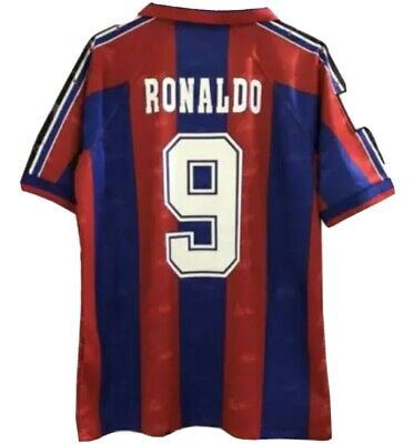 Camiseta Ronaldo F.C Barcelona Kappa 1996-1997,NUEVA TALLA L.Oferta últimas 2