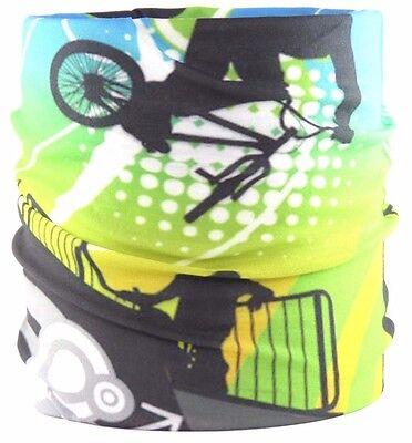 Multifunktionstuch Schal Mask Motorrad Bandana Biking Joggen Winter Ski Hot Pink