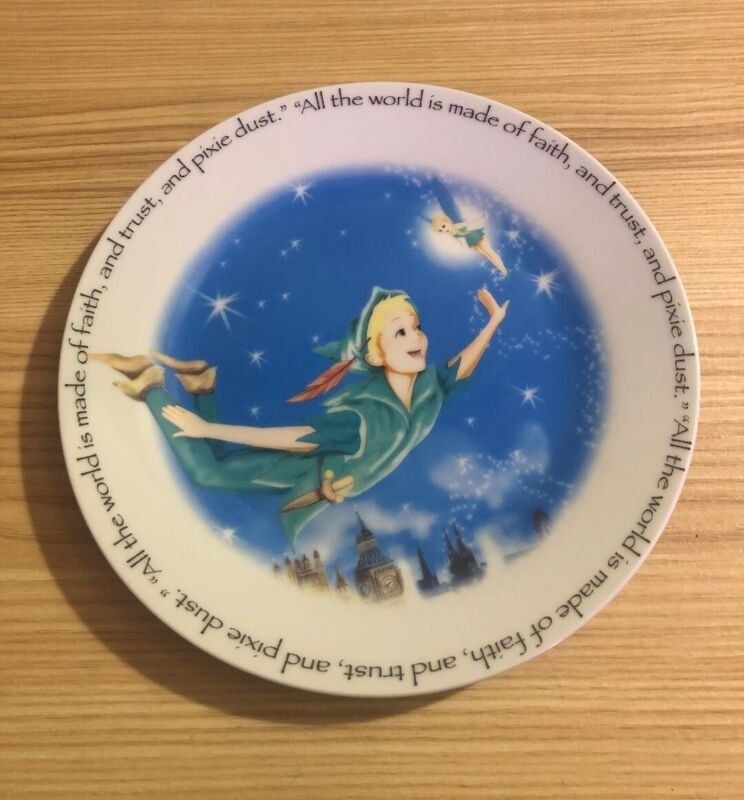Peter Pan Plates designed by Paul Cardew/ Gently Used