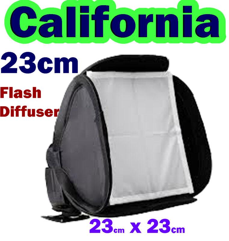 Universal 23cm Softbox Flash Diffuser Canon,Nikon,Sony,Nissin,Sigma,Olympus,Metz