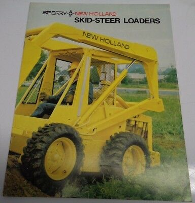 New Holland L-325 L-425 L-445 L-35 L-775 L-778 Skid Steer Loader Sales Brochure