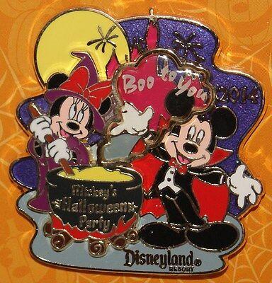 Disney Mickey S Halloween Mickey & Minnie 2014 Limited Release Boo für Sie Pin ()