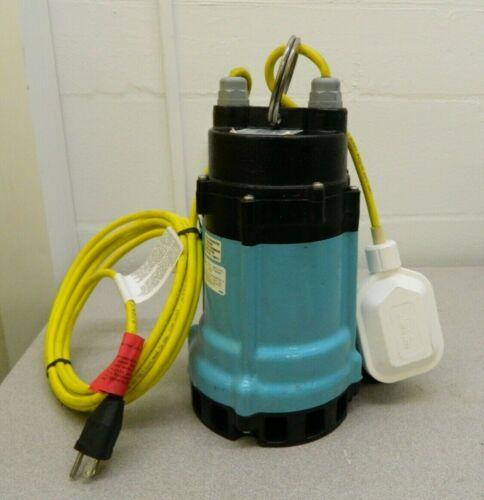 Little Giant Effluent Pump 115 Volts Integral Mechanical Float Operation 511710