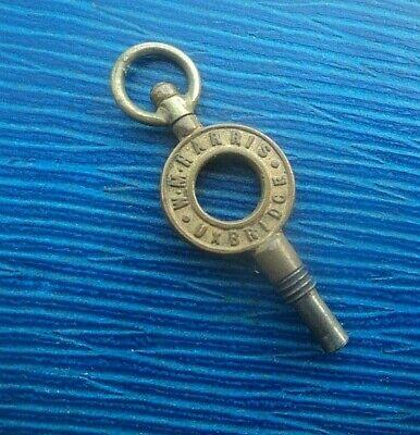 Vintage Advertising Pocket Watch Key - W. M. Harris of Uxbridge