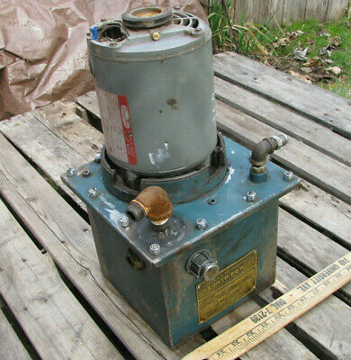 Pronto Power Hydraulic Power Pack Unit 1.5gpm 13hp 115vac Portable Vintage