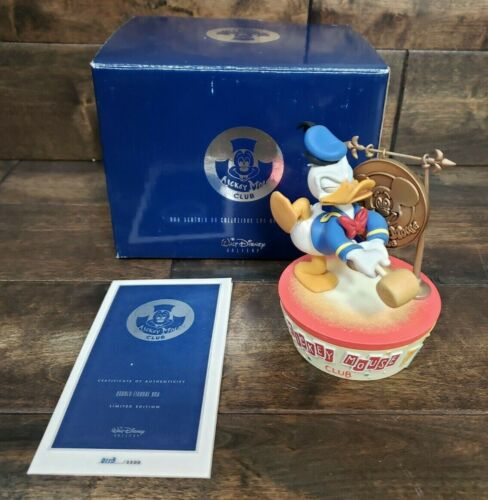 Mickey Mouse Club Limited Edition Donald Duck Figural Box #113/2500