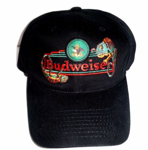 Anheuser-Bush Budweiser Vintage NEW 2000 RARE Lizards Snapback Baseball Hat Cap