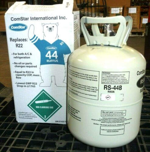 NEWEST - R22 Drop-in Replacement RS-44b / R453a Refrigerant RS44B 24lb container