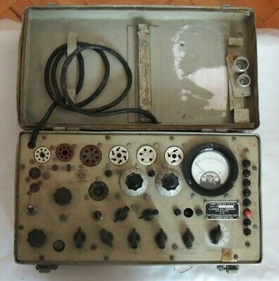 Tv 7 U Vintage Military Electron Tube Tester C.lorenz A.g Germany -2-