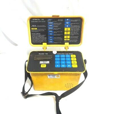 3m Dynatel 745 Compact Telephone Subscriber Loop Tester