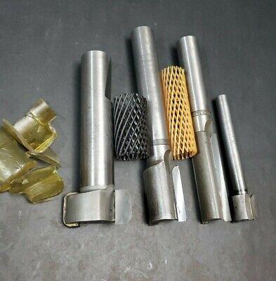 """DAMEN CARBIDE     .094 /""""  convex full radius carbide cutter 2.5/""""  x .875/"""" ID"""
