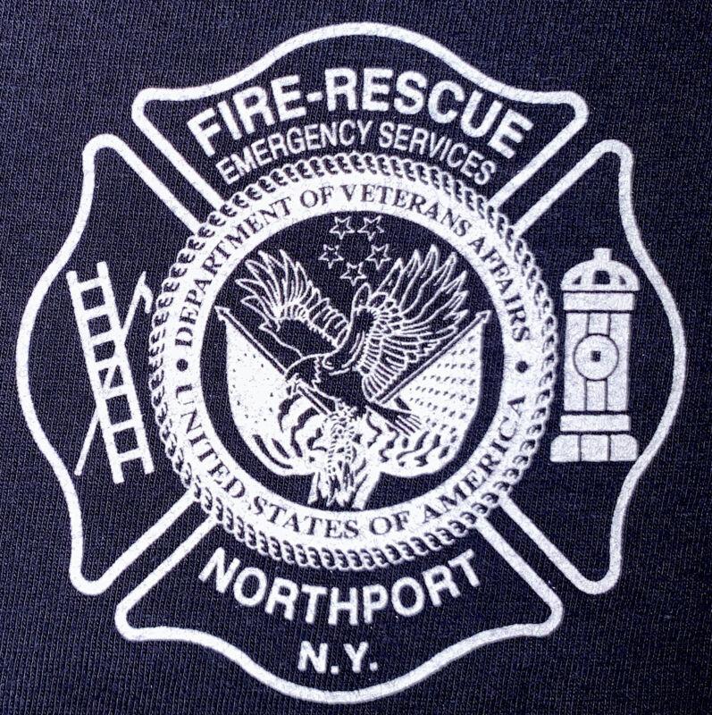 US Department Of Veterans Affairs Fire Rescue T Shirt Sz XL North Port FDNY