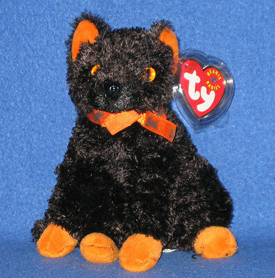 TY FRAIDY the HALLOWEEN CAT BEANIE BABY - MINT with NEAR MINT TAG - SEE PIC - Baby Halloween Pics