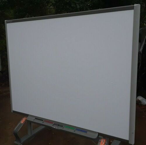 Smart Board SB680 77 Interactive Whiteboard /Stand/Airliner WS100 Homeschool