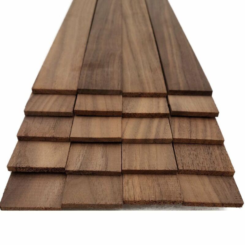 """Black Walnut Thin Sawed Lumber  - 1/8"""" x 1.5"""" x 18"""" (20 Pcs)"""
