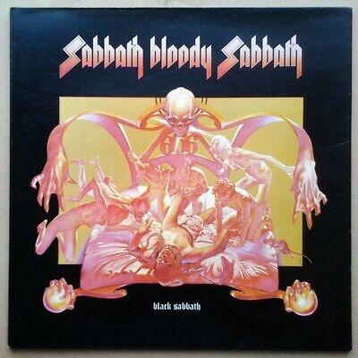 "BLACK SABBATH  ""Sabbath Bloody Sabbath"" VINTAGE UK PRESSING WWA"