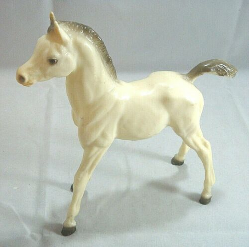 Vintage Breyer Horse Gray White Arabian? Filly Horse Glossy?