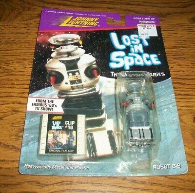 Lost In Space Johnny Lightning, ROBOT B-9, Original Film Clip #10. NIP
