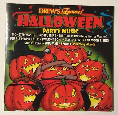 Drew's Famous Halloween Party Music, Monster Mash, Ghost Busters, Music CD - Halloween Party Music Ghostbusters