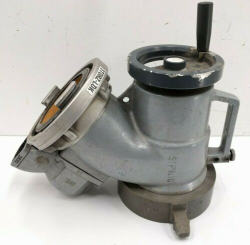 """AWG Piston Inlet Pressure Relief Valve 6"""" NH Female to Storz 5"""""""
