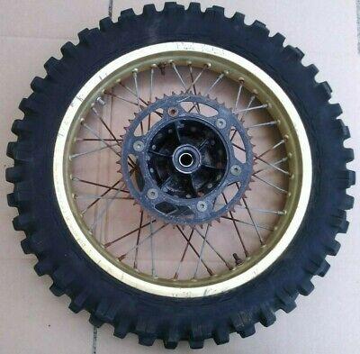 Rear Wheel Brake Hub Rim YZ250 1982