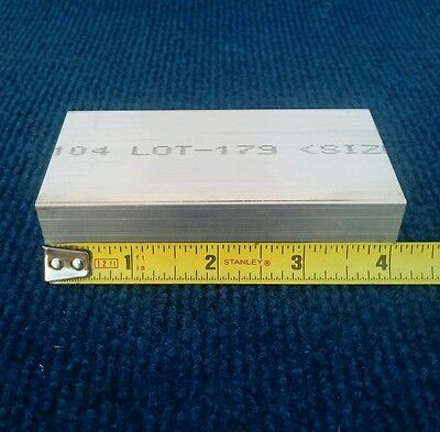 1 X 2 X 4 Long New 6061 T6511 Solid Aluminum Plate Flat Bar Stock Mill Block