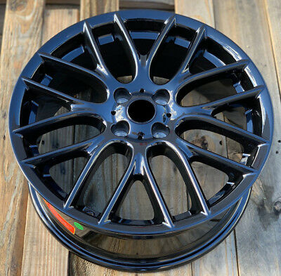 17 Inch Wheels For Mini Cooper and S Gloss Black Finish 4x100 Rims Set 4