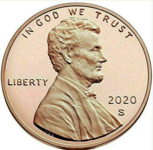 2020 P+D+S Lincoln Penny Set - BU Coins from Bank Roll / Proof Set